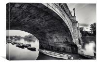 Richmond Bridge, Canvas Print