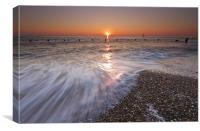 Norfolk Flow, Canvas Print