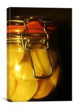Sweetie Jar, Canvas Print
