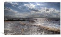 Hunstanton Norfolk Coast, Canvas Print