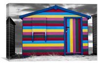 Candy hut., Canvas Print