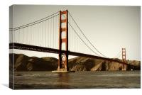 Golden Gate, Canvas Print