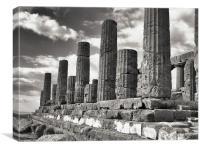 Temple of Hera, Canvas Print