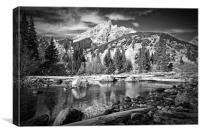 Cottonwood Creek, Canvas Print
