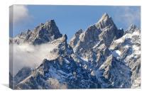 Mountain Tops, Canvas Print