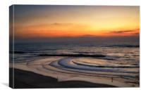 Mediterranean Sunset, Canvas Print