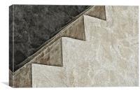 Spanish Church Steps, Canvas Print