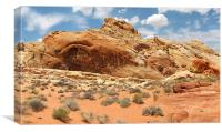 Valley of Fire, Canvas Print