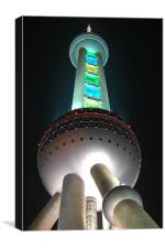 Pearl Tower, Canvas Print