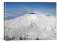 Mt. Etna, Canvas Print