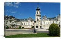 Keszthely Palace, Canvas Print
