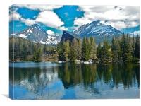 The Tatra Mountains, Canvas Print