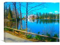 The Tatra Lakes, Canvas Print