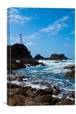 Jersey Lighthouse, Canvas Print