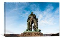 Commando Memorial Spean Bridge, Canvas Print
