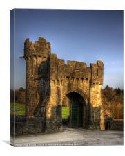 Entrance Gate @ Ashford Castle, Canvas Print
