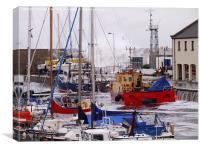 Harbour Storm, Canvas Print