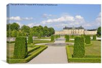 Drottningholm Palace, Canvas Print