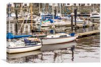 Boats on the Marina, Aberystwyth, Wales