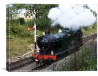 GWR Steam, Canvas Print