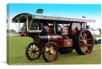 Burrell Showmans Engine, Canvas Print