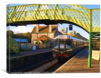 Corfe Castle Station 2, Canvas Print