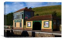 Corfe Castle Station 3, Canvas Print