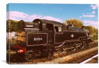 BR Standard Class 4, Canvas Print