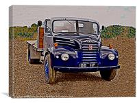 Ford Thames 4D, Canvas Print