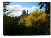 Corfe Castle 2, Canvas Print