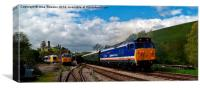 Two 50s and a HST, Canvas Print