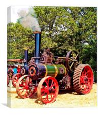 Genera Purpose Traction Engines, Canvas Print
