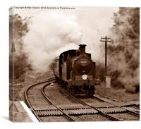 M7 at Corfe Castle, Canvas Print