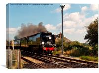 Dorset Coast Express, Canvas Print