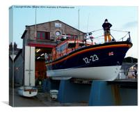 Swanage Lifeboat, Canvas Print