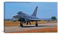 RAF Eurofighter Typhoon, Canvas Print