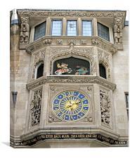 The Liberty Clock, Canvas Print