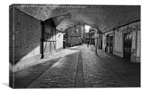 Old London Walkway, Canvas Print