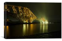 Forth Rail Bridge, Scotland, Canvas Print