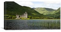 Kilchurn Castle, Loch Awe. Scotland, Canvas Print