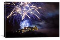 Stirling Castle Celebrations, Canvas Print