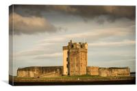Broughty Castle, Broughty Ferry, Canvas Print