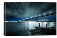 Tay Road Bridge, Scotland, Canvas Print