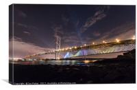 The Queensferry Crossing and the Forth Road Bridge, Canvas Print