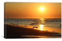 Lossiemouth Sunset, Canvas Print