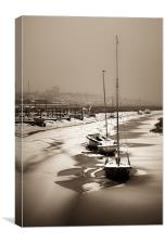 Leigh-On-Sea, Canvas Print