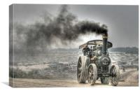 Steam Engine, Canvas Print