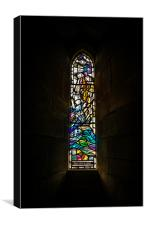 Stained Glass Window 2, Canvas Print
