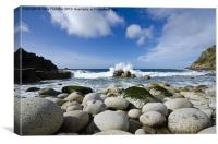 Porth Nanven, Canvas Print