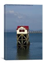 Mumbles Lifeboat Station, Canvas Print